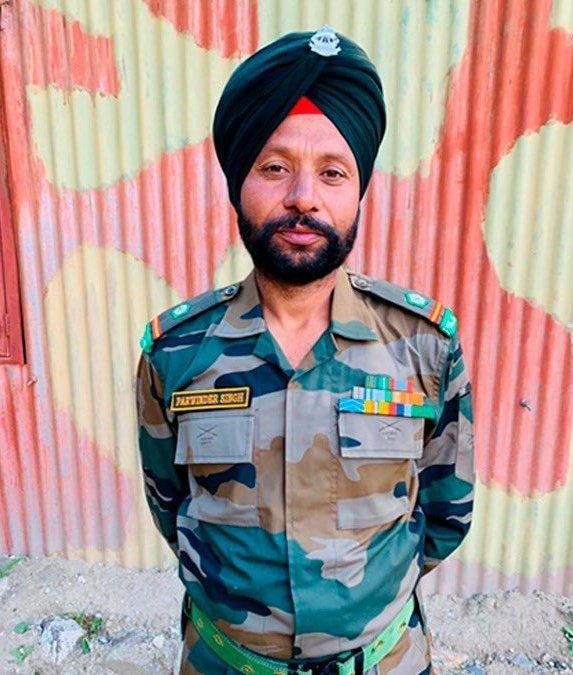 Punjab CM Captain Amarinder Singh announced ex-gratia compensation to family member of Naib Subedar Parwinder Singh from 22 Punjab.