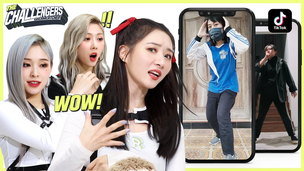 #Dreamcatcher make a DANCE CHALLENGE with fans🎶  Who's going to be the winner?!  Check it out on our YT💚  👉  #The_Challengers_DREAMCATCHER #드림캐쳐 @hf_dreamcatcher