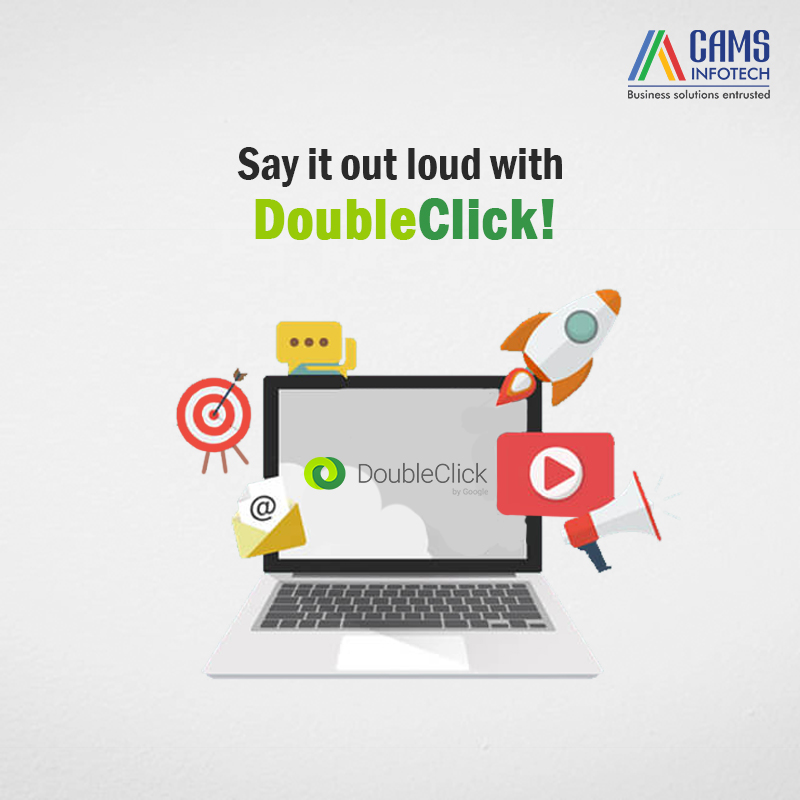 Google Double click makes it easier to launch and manage campaigns on various platforms across the web. #doubleclick #socialmediamarketing #SocialMediaPlatformsGuidelines #socialmediamanagement #digitalmarketingagency #digitalmarketingstrategy #digitalmarketingtips #camsinfotech
