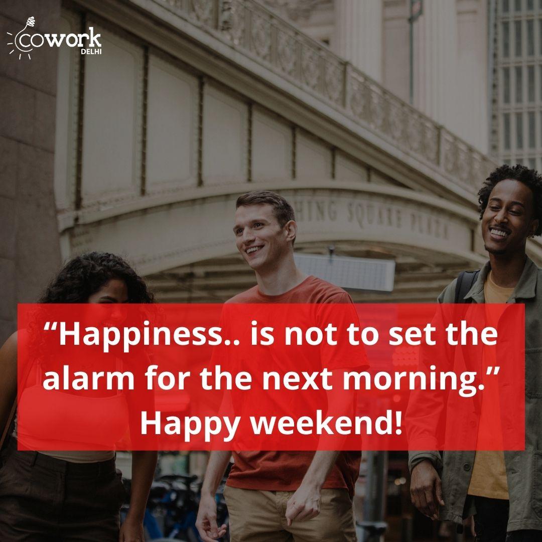 Have a happy weekend 🤗 . . . . #coworkdelhi #coworking #HappyWeekend #weekendvibes #weekendmood #sundayvibes #SaturdayThoughts #SaturdayVibes #SundayThoughts #SundayFunday #Sunday #likeforlike #sundayighoho