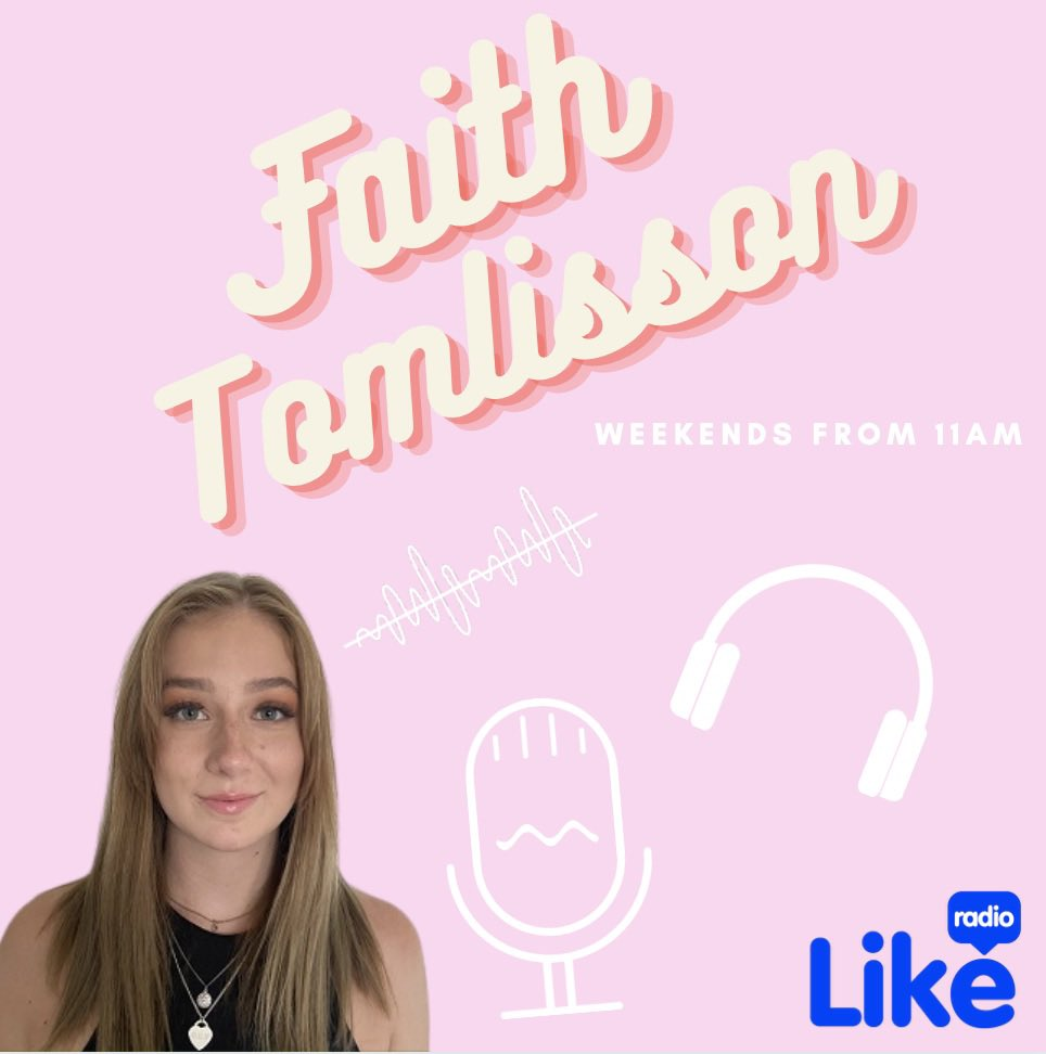 Faith on Like Radio @faithtomlisson #SaturdayVibes #weekendvibes #radio