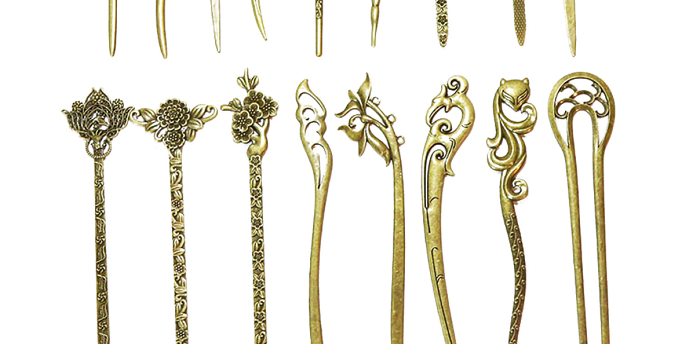 Elegant Bronze Vintage Hair Stick Pin For Women - 17 Styles  On Sale Now Price: $8.99 + Get FREE Shipping! #onsalenow #bodychains #fashion #summer #happiness #beauty #instagram #style #cute #followme #bodychain #bellybutton #bellybuttonring #onsale