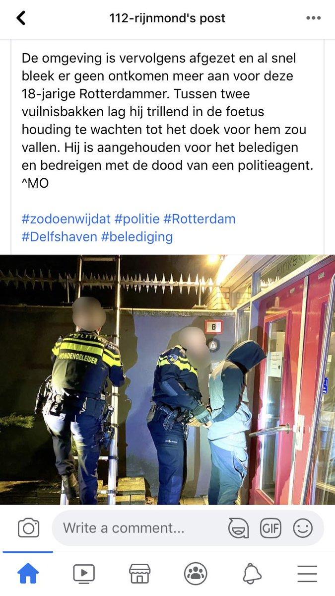 test Twitter Media - Politie Rotterdam is weer eens stoer aan het doen hoor https://t.co/ENNwU1ody1