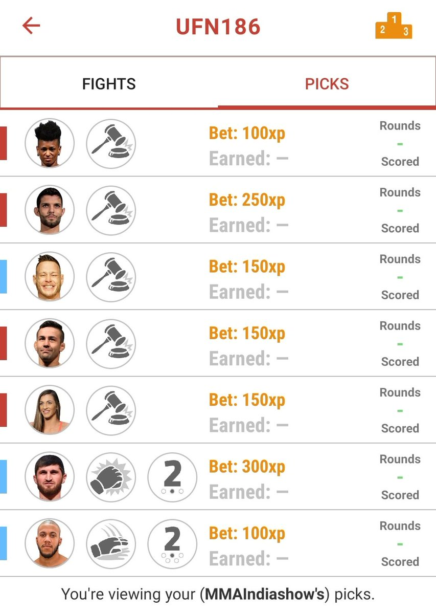 Here are our picks using @VerdictMMA for #UFCVegas20   Who are you picking to win? ⏬  #UFC #MMA