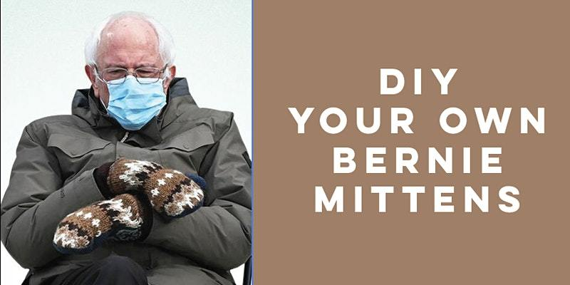 Bernie Sanders Style Mitten Workshop  #Berniesanders from #Inauguration2021  feb 28th 🇺🇸🇺🇸🇺🇸🇺🇸🇺🇸🇺🇸