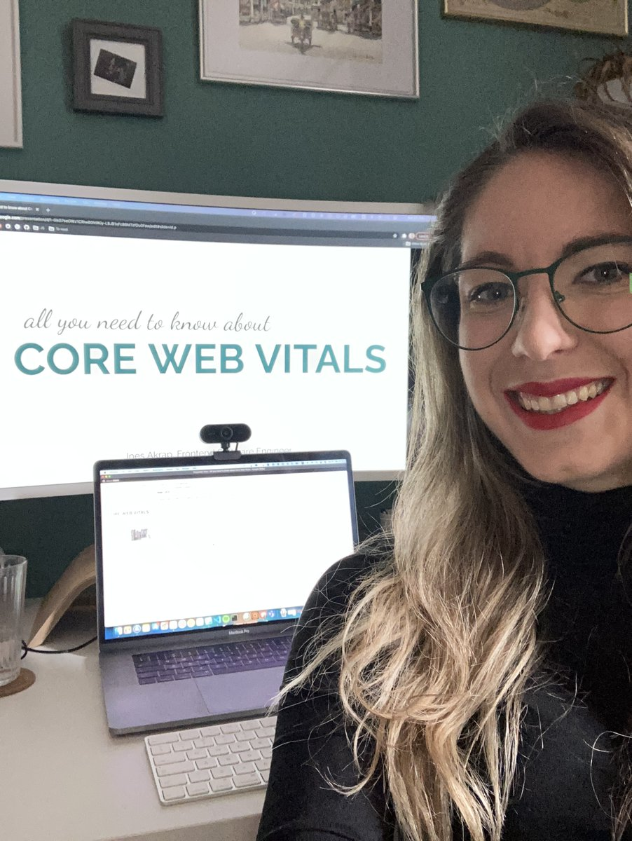 The day has come where putting on make-up properly was harder than preparing a talk 😅 Session for @TECHKNOWDay recorded and ready 💪 #webperf #onlinetalks #SaturdayVibes