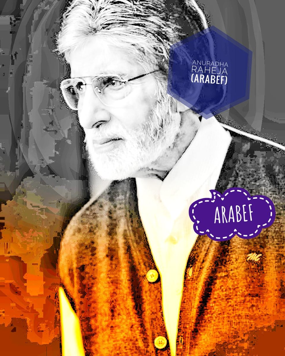 @SrBachchan @SrBachchan @GuptaonlyoneAB   🆎Sir 🙏, Ur My LOVE My Day Starts With U N ENDs U . 🆎Sir ♥️❤️🤗So Much. I Need Some Love N Blessing From U . Long Time I Have Not Got It 🙏. Good Night🌈🅰️®️. Have A Great Weekend To Both 🙏💗.