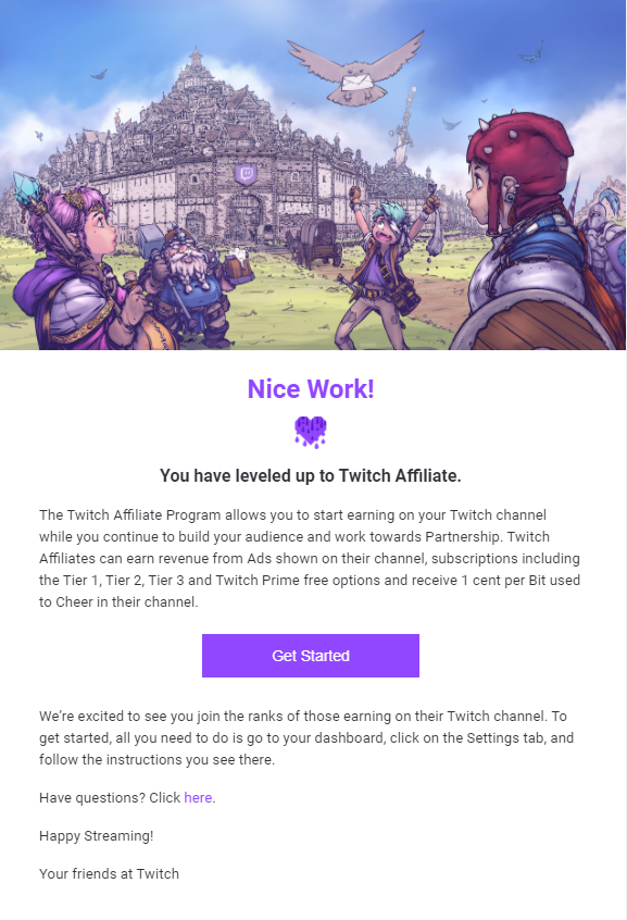 hello gamers i am now one of you!!!!  #affiliate #twitchaffiliate #twitch #twitchstreamer