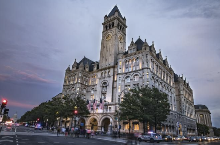 Here's how Donald Trump's Washington, D.C. hotel feeds QAnon's March 4 conspiracy: