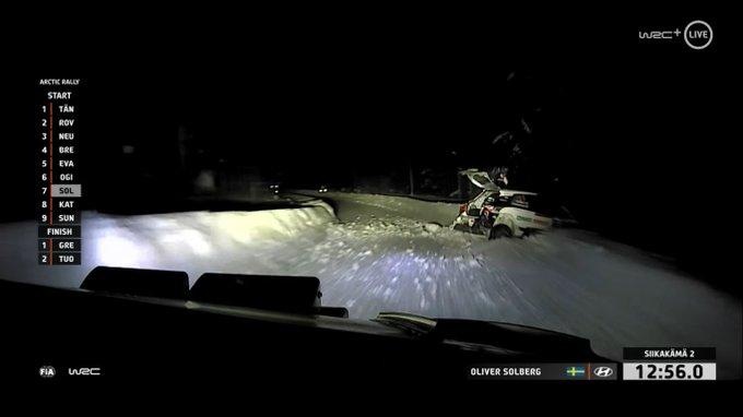 Ogier Arctic Rally Finland 2021