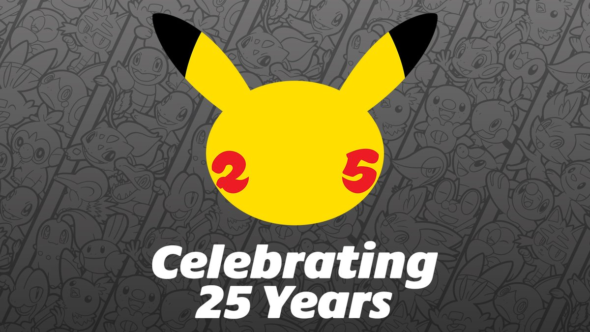 Happy #PokemonDay, Trainers! Today is celebrating 25 years of Pokémon! From the Pokémon Red and Pokémon Green games to #PokemonSwordShield, what is your favorite Pokémon video game memory? #Pokemon25