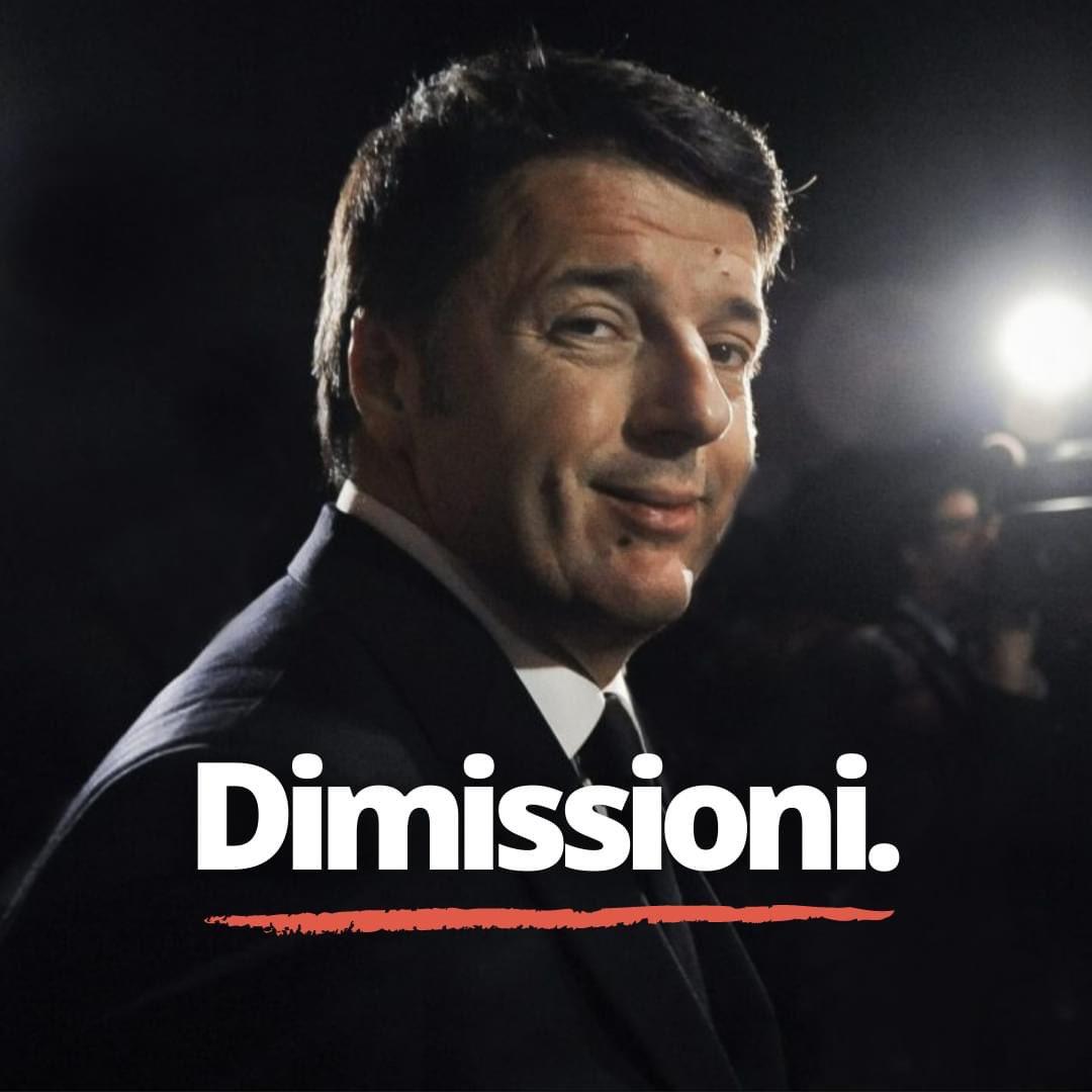 #RenziDimettiti