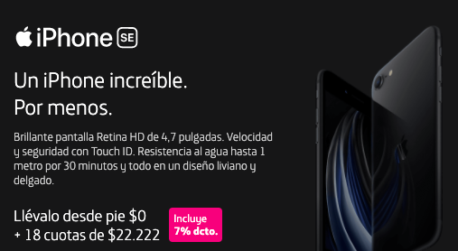 #iphonese #apple #movistar #oferta