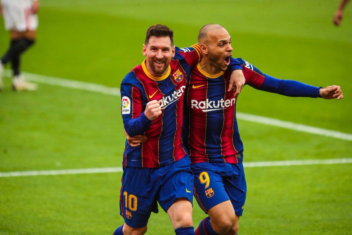 3⃣0⃣ goles de #Messi en @LaLiga contra el Sevilla ⭐  ⚽⚽⚽⚽⚽ ⚽⚽⚽⚽⚽ ⚽⚽⚽⚽⚽ ⚽⚽⚽⚽⚽ ⚽⚽⚽⚽⚽ ⚽⚽⚽⚽⚽