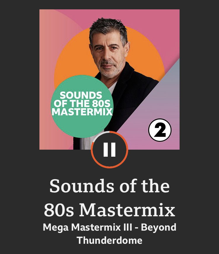 THE MEGA-MASTERMIX: Monthly collection of the best Mastermixes, back-to-back - this month feat. @duranduran @TomBaileyTour @AlexanderO_Neal & more 🙌 bbc.co.uk/sounds/play/m0…