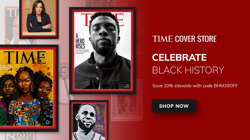 Celebrate Black History Month with a TIME cover art print for your favorite reader, or yourself: https://t.co/uVrwd9mic5 https://t.co/qSiazk5jfM