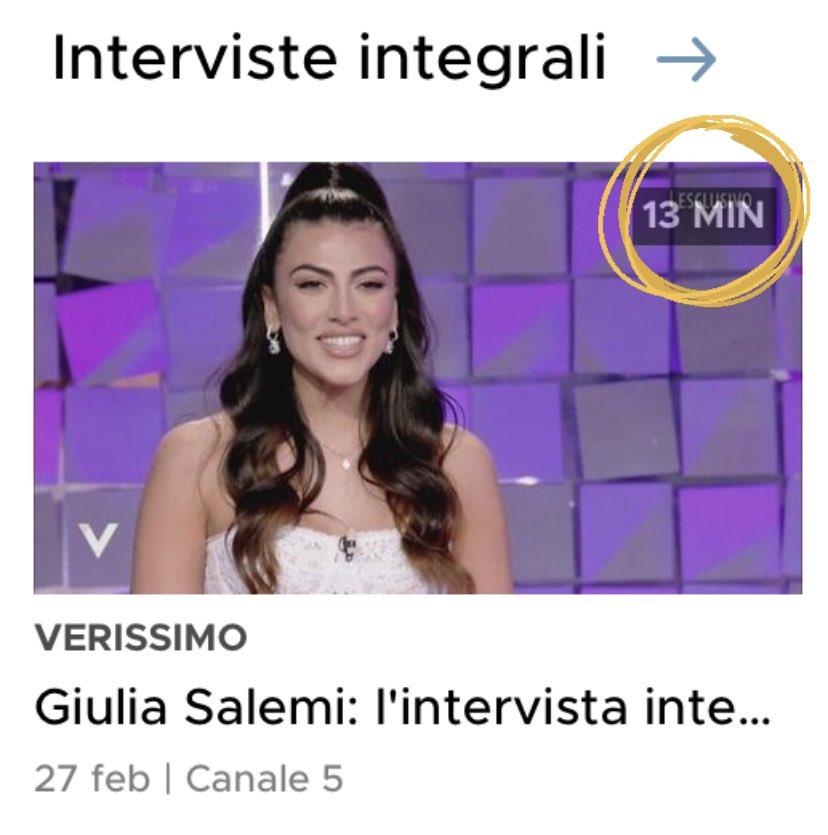 #giuliaxverissimo