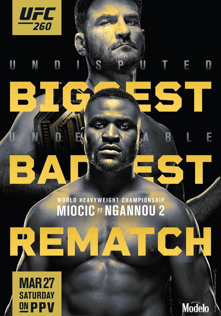 Damn, Stipe packin 😳 #UFC260 #UFCVegas20