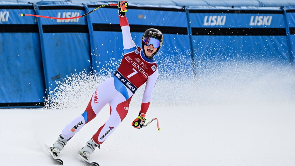 Congratulations Lara Gut-Behrami on your back-to-back Downhill wins at the Ski World Cup in Val di Fassa. It's an achievement that represents one more milestone in an already exceptional season for one of the sport's greats. #RolexFamily #Perpetual