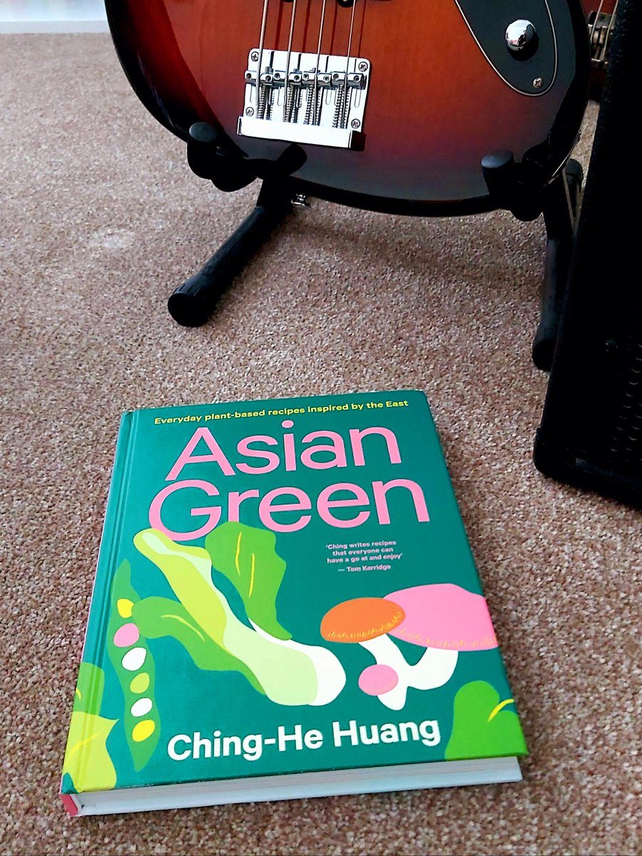 Seriously top drawer recipes in here. I only hope we can do them justice @Chinghehuang ✌🎸☮💜