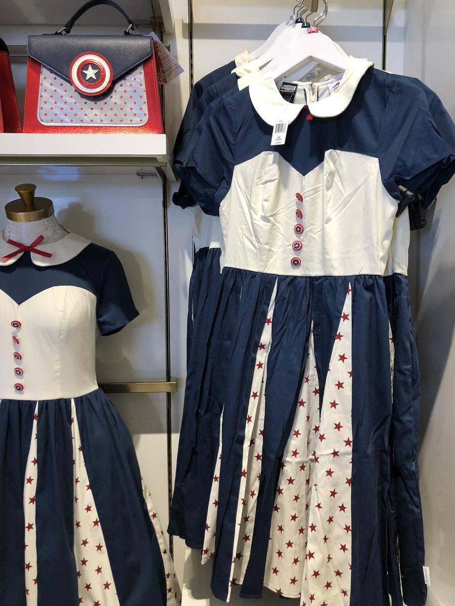 #マーベル のドレスとバック どちらも可愛いです  #海外ディズニー #フロリダディズニー
