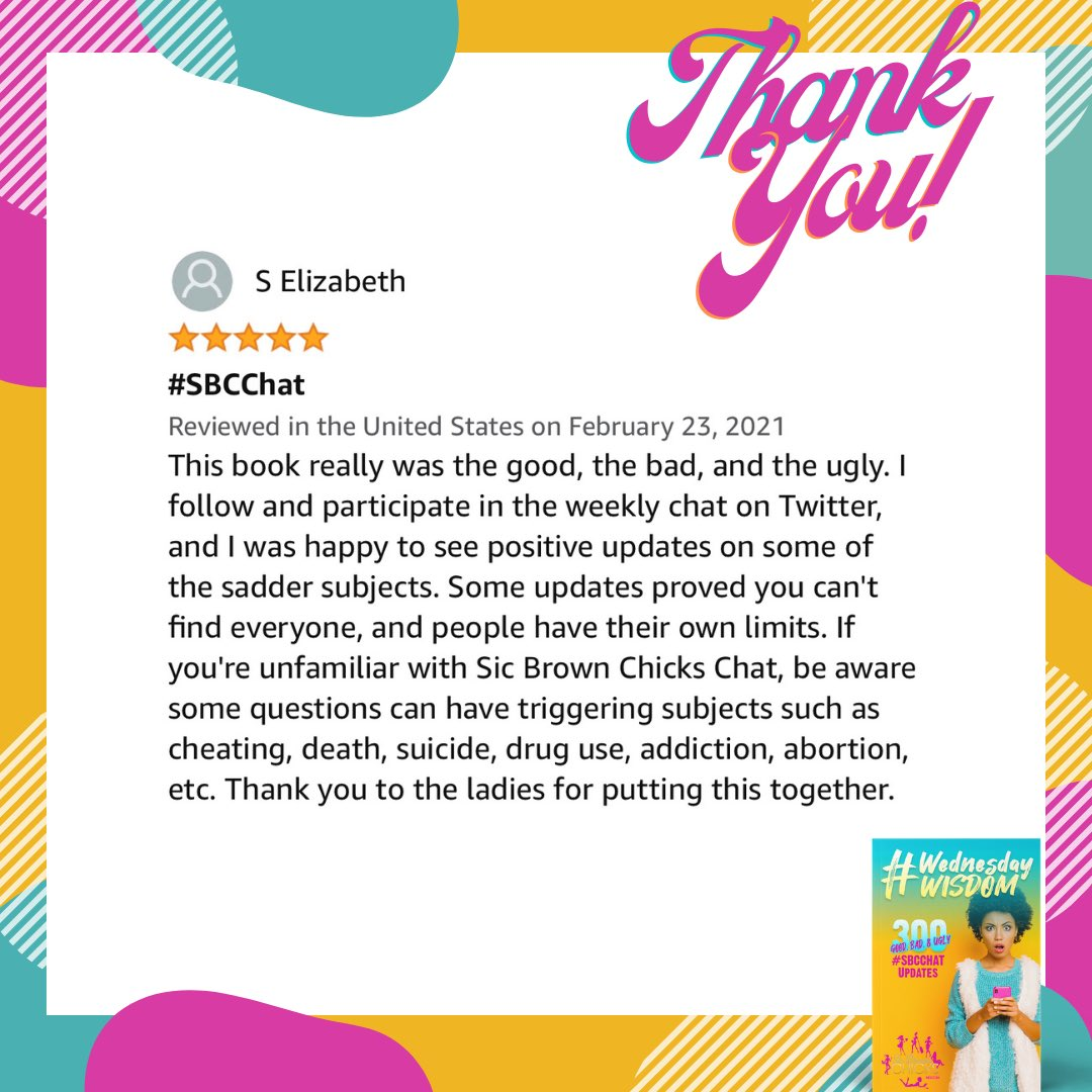 #SaturdayMorning THANK YOU so much for your reviews! Start reading your #SBCCHAT updates for free>> 💘💘💘