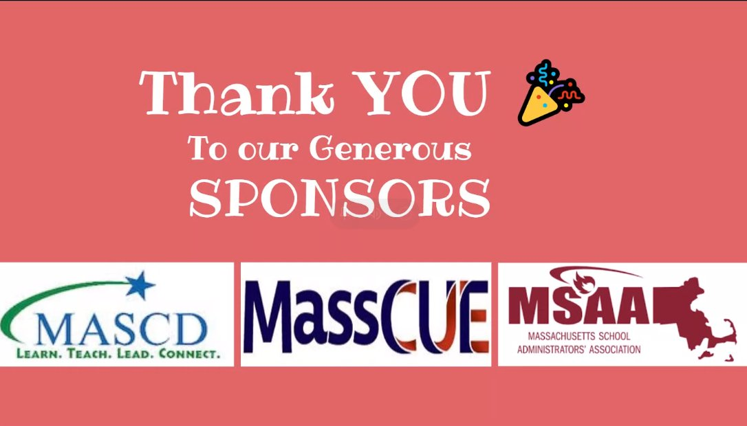 .@MASCD always supporting Educators #EdCampMaLeads