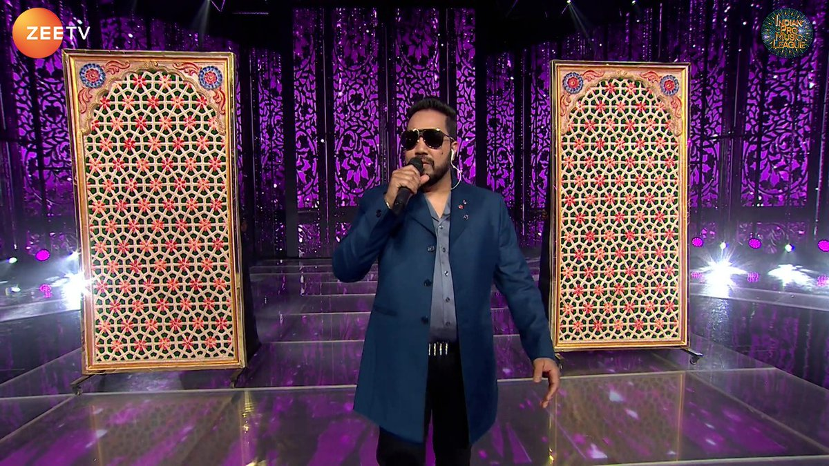 The Swag king of the Indian Music Industry, #MikaSingh is here!   #IPMLonZeeTV #MusicUnchaRaheHamara #WeSafeIndiaPunjabLions #LiveTweet  @MikaSingh @AdishOswal @realrakhioswal @wesafe_india @WSIPunjabLions @ipmlofficial @MYFMIndia @bigfmindia