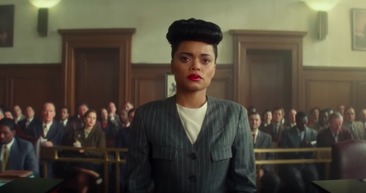 Our heroes would not have been as emboldened as they were...if it were not for [Billie Holiday] singing Strange Fruit in defiance of the government and letting people know that this was wrong. @AndraDayMusic LISTEN👉🏾 wapo.st/3shrSBi
