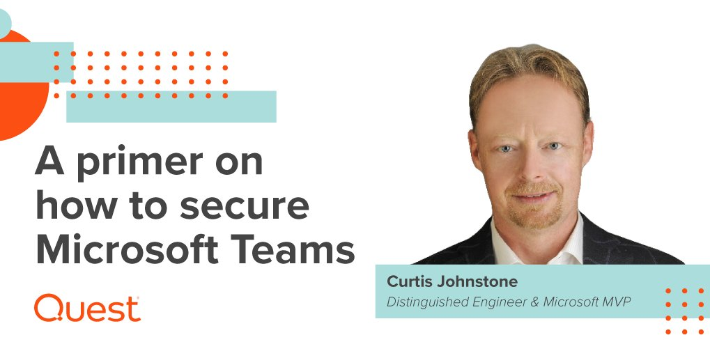 Learn how to keep #MicrosoftTeams secure while maximizing end-user collaboration. https://t.co/93WGXmh3GF #MSTeams https://t.co/yqfcJW6yAM