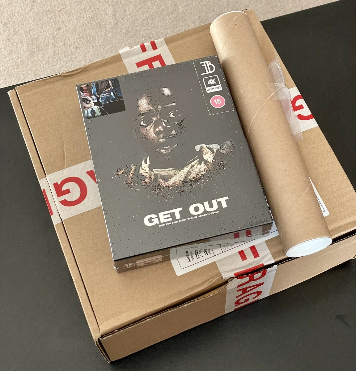 #NewIn today from @EveryThingBlu91 #GetOut #BluPack Some amazing detail on the slip on this release with all the extras being of the highest quality as always!