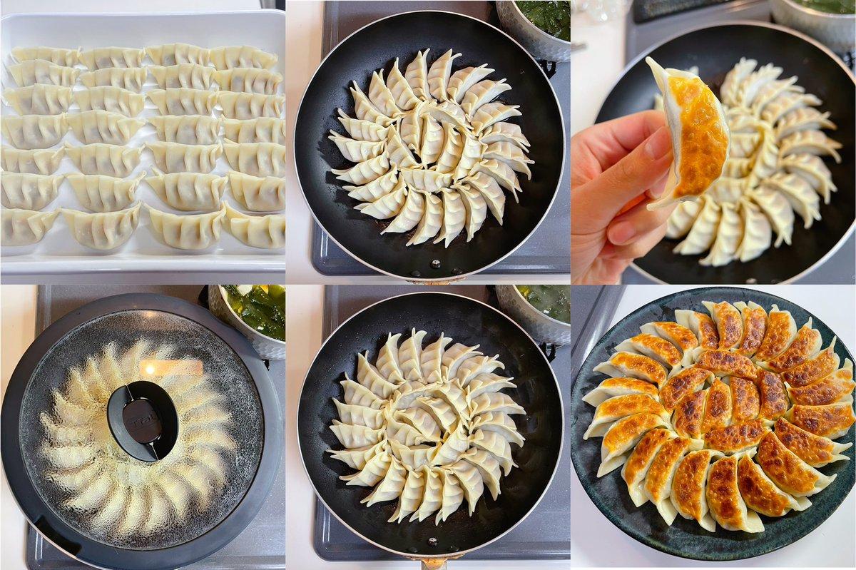 丁寧な餃子の作り方。「椎茸餃子」ただ今修行中の身ですが、餃子の神様の友人に教わった焼き方も細かく纏めたよ。