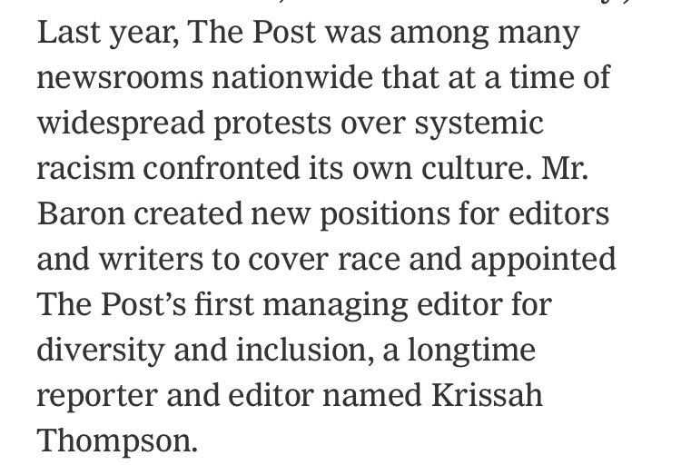 This big Marty Baron retrospective in the NYT is mostly fine but it's uh pretty noticeable what gets left out here... nytimes.com/2021/02/27/bus…