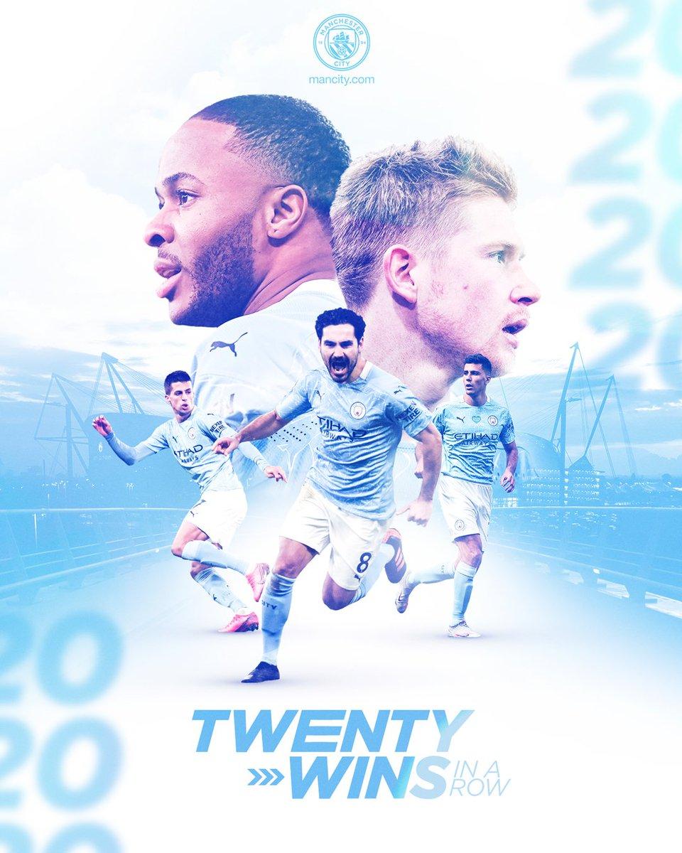 Los de Guardiola son líderes en la liga, están en la final de la Copa de la Liga, instalados en cuartos de final de la #UCL, en cuartos de la #FACup, 20 victorias consecutivas y son la mejor defensa en Inglaterra