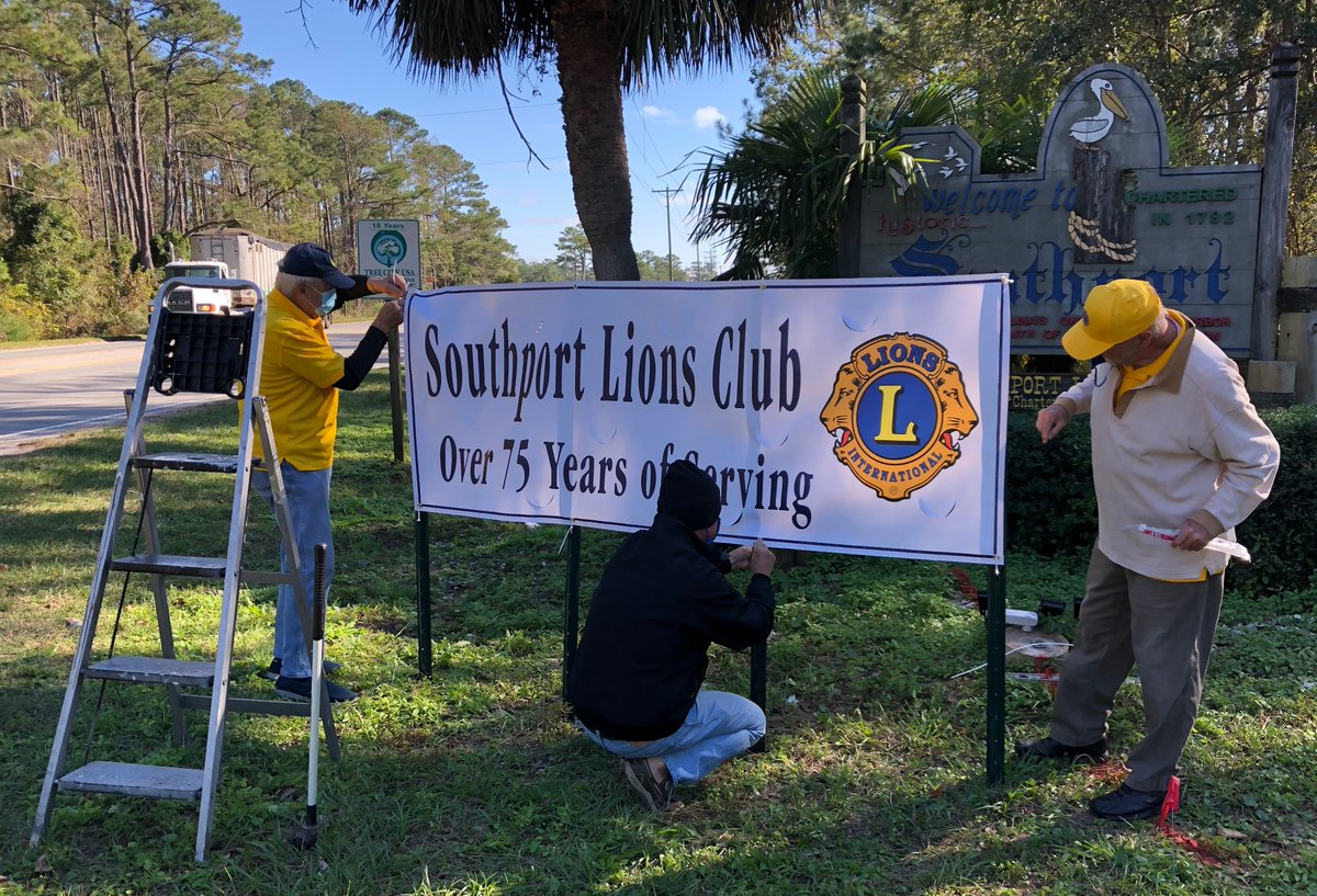 Stay tuned for information on our #pandemic-delayed #SouthportLions 75th anniversary celebrations!