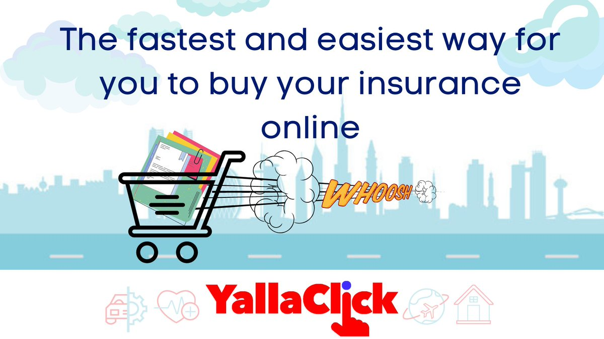 @YallaClick is the fastest way for you to receive your insurance policy documents  #insurance #YallaClick #MedicalInsurance #health #family #HealthInsurance #MaidInsurance #DHAInsurance #covid #Covid19Insurance #SMEinsurance #EmployeeBenefits #carinsurance #investment