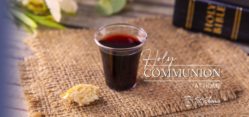 The first Sunday of the month means Holy Communion.  #stjamesumcorg #love #like #holycommunion #sacraments #communion #happy #instagram #beautiful #Jesus #God #firstSunday #life #sign #Godslove #family #worship #Romans #nature