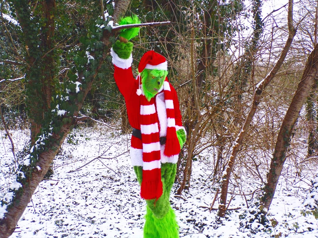 #Grinch Quote ---Now you listen to me, young lady!! #masterofdisguise #characters #Whoville #snowing  #masterofdisguiseentertainment #grinchmas #thegrinch #snow  #thegrinchmovie #grinchlife  #thegrinchthatstolechristmas #phootshoots #entertainers  #thegrinchstolechristmas #event