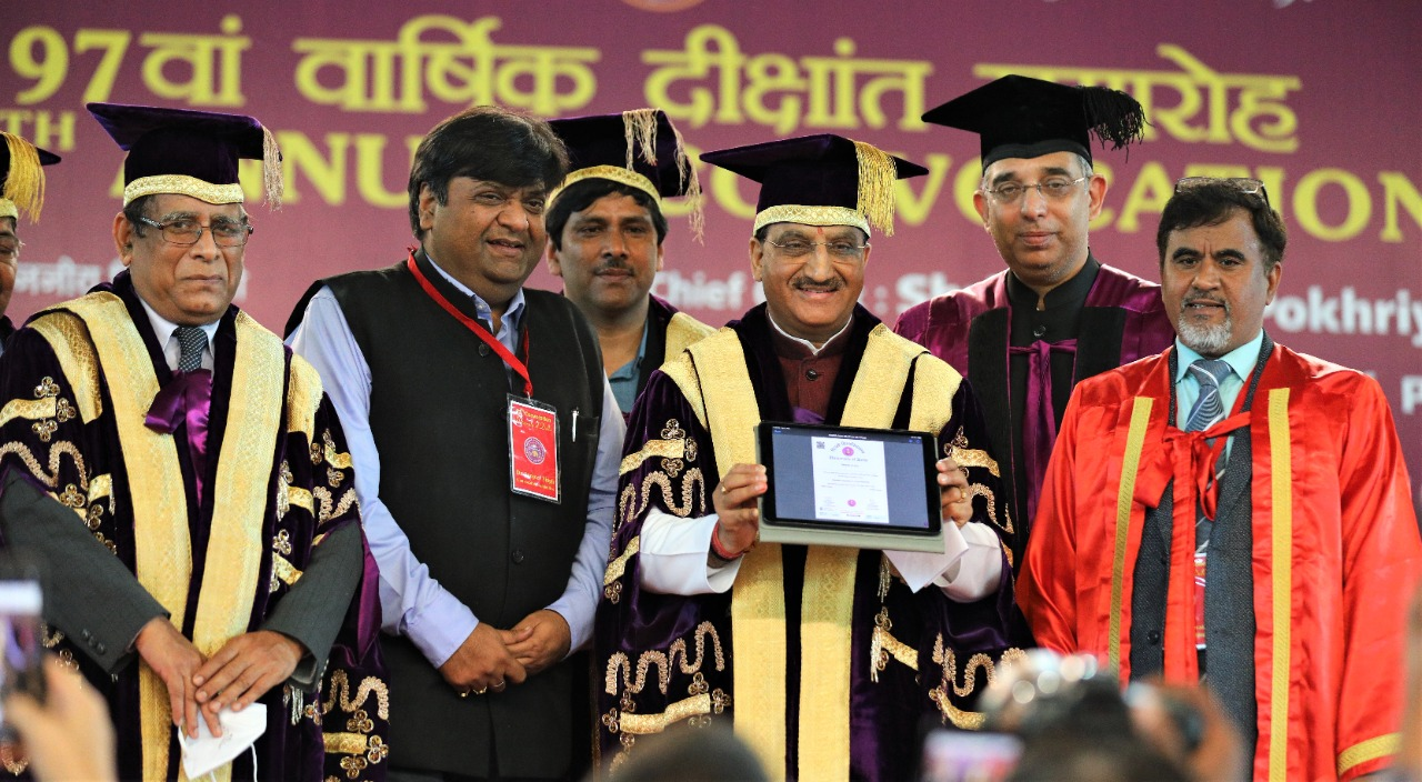 DU Convocation: Nishank stresses on need for reforms in education sector