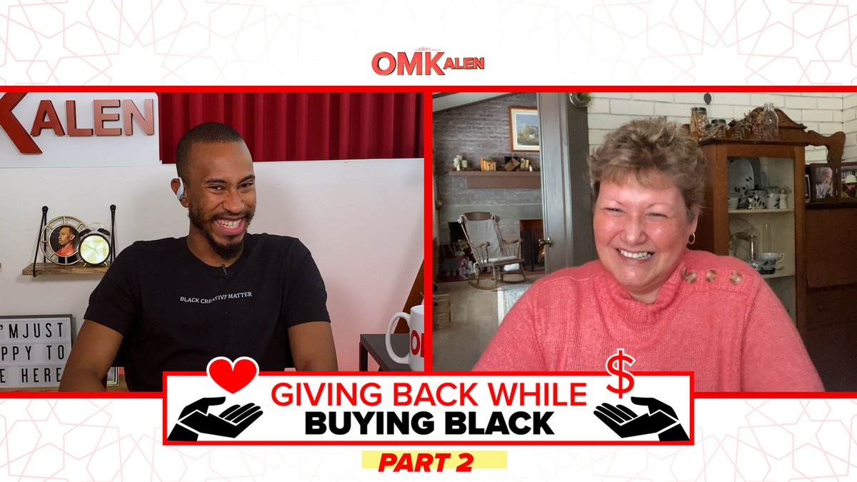 .@TheKalenAllen is back with Part 2 of Giving Back While Buying Black, with a VERY special healthcare worker!