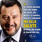 Image for the Tweet beginning: GLI ITALIANI PENSANO A SALUTE,