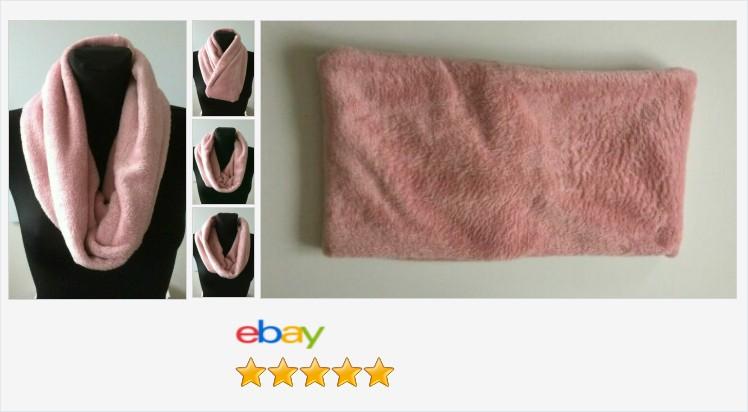 #handmade cuddle polar fleece rose pink scarf, cowl, infinity snood, neck warmer | eBay #cuddle #polar #fleece #rose #pink #scarf #infinity #snood #cowl #neckwarmer #fashion #winter #accessories #gifts #giftideas #giftsforher #giftsforhim #giftshop