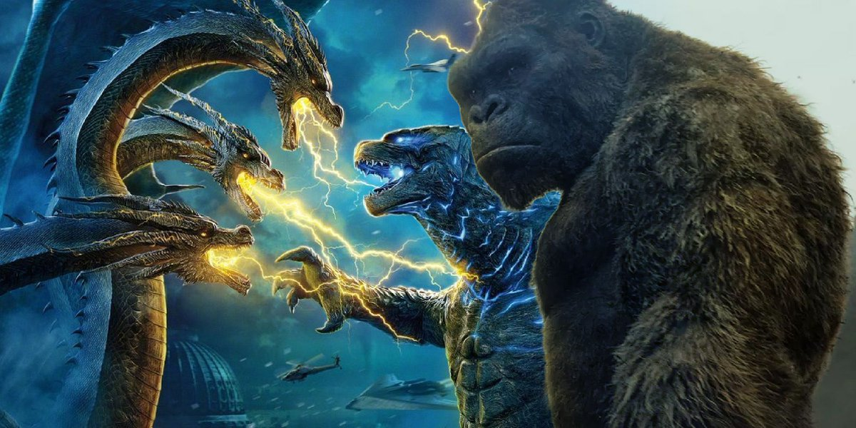 The confirmation of Mecha-King Ghidorah in Godzilla vs. Kong sets up the possibility for a second titan war to take place in the #MonsterVerse.