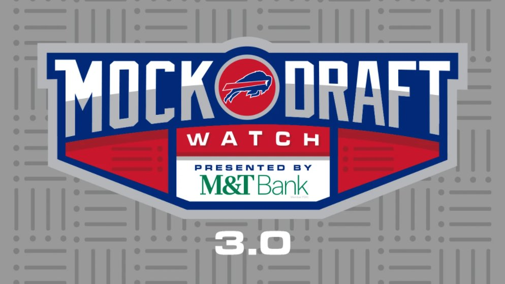 👀👀  Mock Draft 3.0: