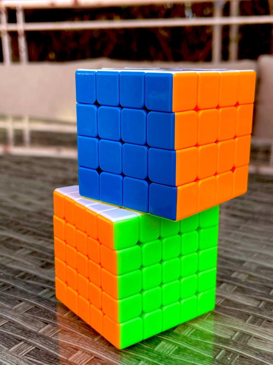 4 × 4 o 5 × 5?? Me encantan!!!!!? 3 × 3 controlado, y resulta más difícil el de cuatro que el de cinco, lo habéis probado??