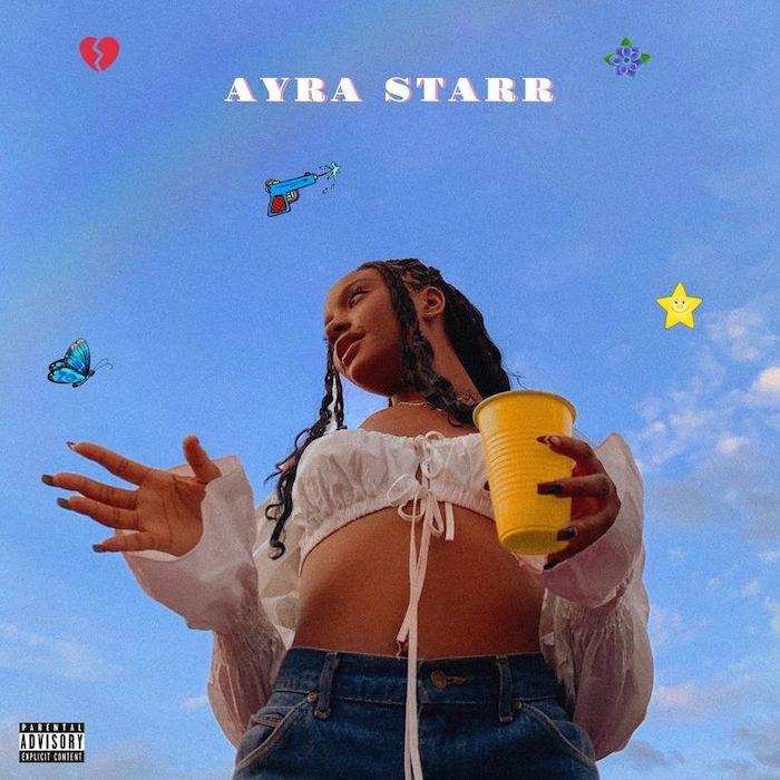Ayra Starr's EP artwork