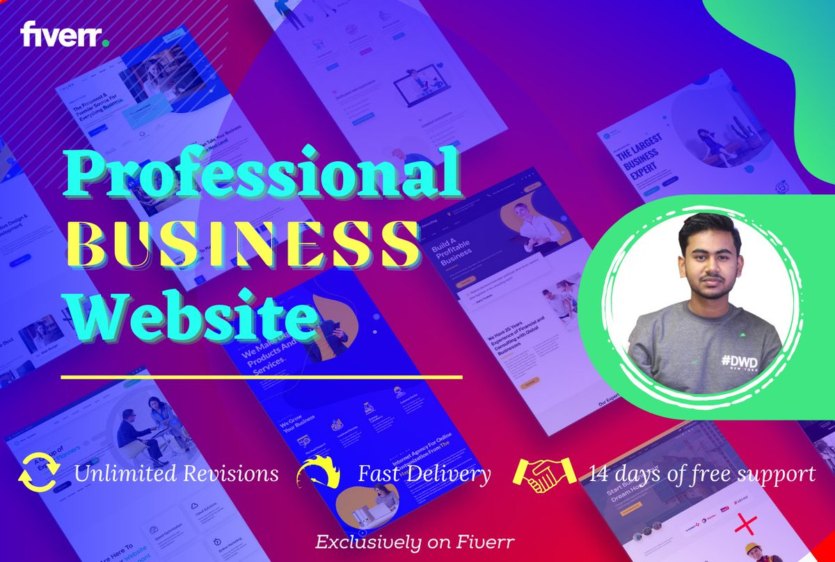 You can be a startup looking for a new website or a company that needs to take the existing website to another level. I'm here to make it happen! Get your website: ;  #WordPress #readingfc #FCBKOE #millwall #whufc #bouwat #mciwhu #Caturday #coyi #Synod