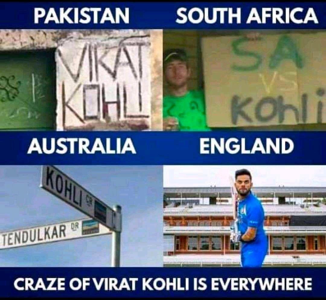 Kohli fan base 💥💥 #ViratKohli #ViratiansRulingTwitter