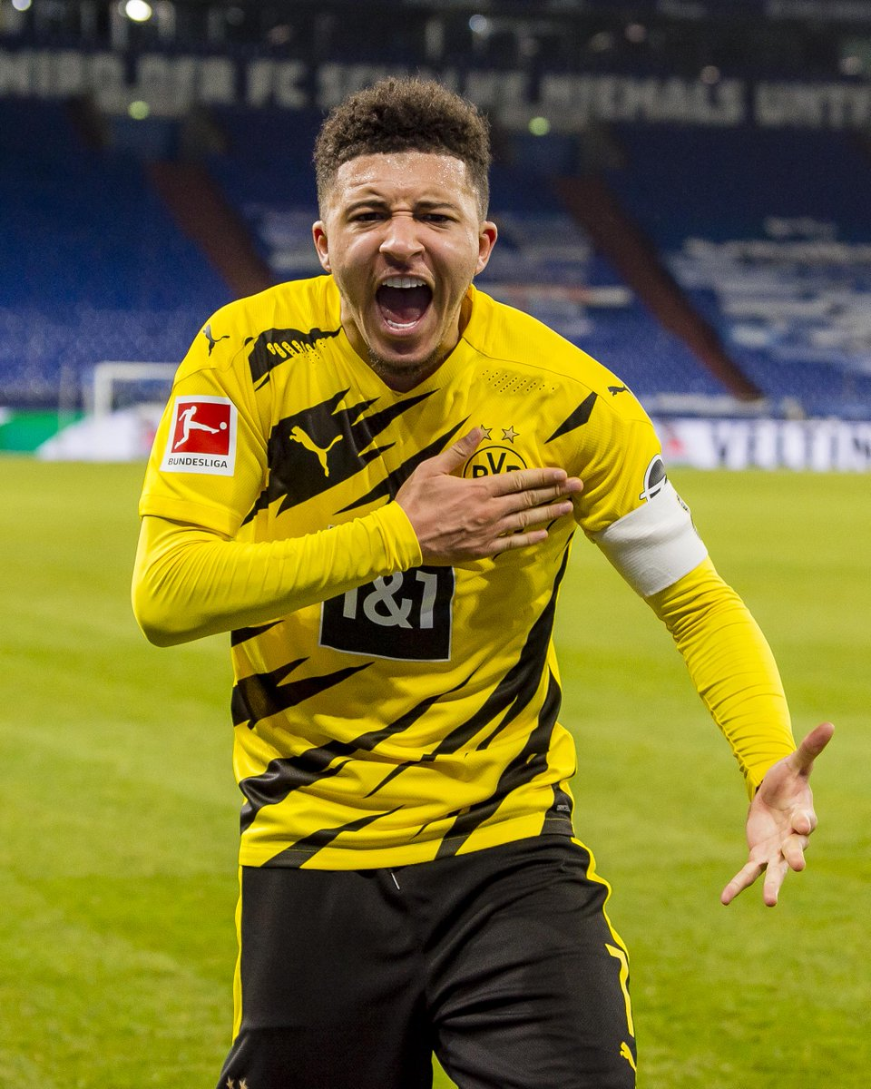 Jadon Sancho with a goal and an assist for Dortmund today.  He's the youngest player in Bundesliga history to reach 50 assists ✨