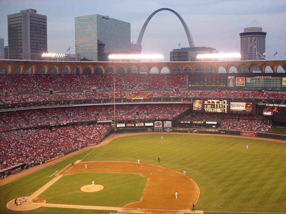 "IMHO Busch Stadium II (closed in 2005) was the best of the so-called ""cookie cutter"" stadiums. It had a certain charm and character that many of the others lacked. Photo: Matthew Gililland https://t.co/USoXec6v1y"